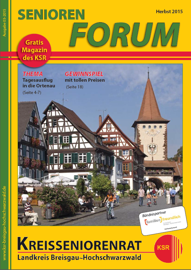 Seniorenforum Herbst 2015