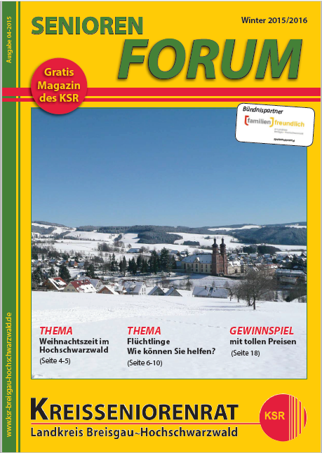 Seniorenforum Winter 2015/2016