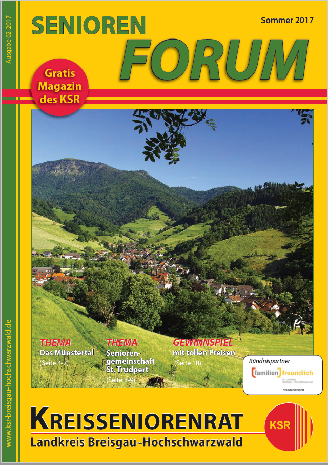 Seniorenforum Sommer 2017