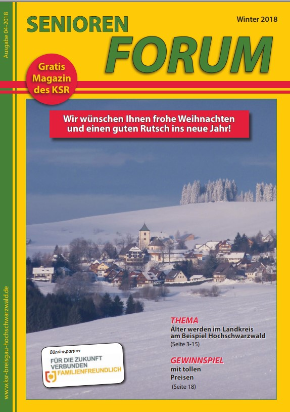 Seniorenforum Winter 2018